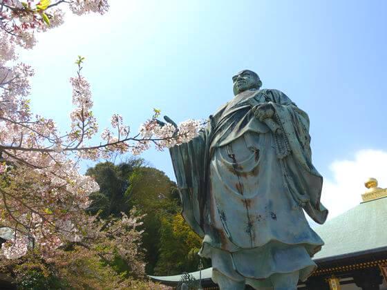 長勝寺 日蓮像