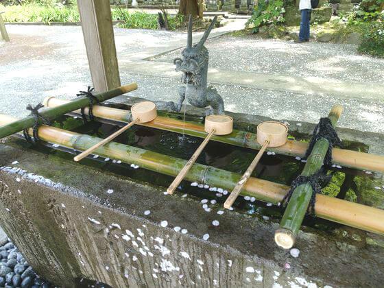 妙本寺 手水舎