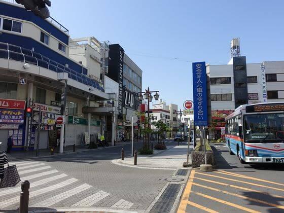 京急久里浜駅 バスロータリー