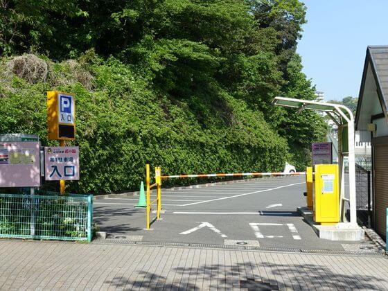 くりはま花の国 駐車場