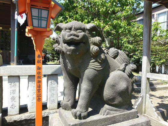 横須賀市 久里浜天神 狛犬
