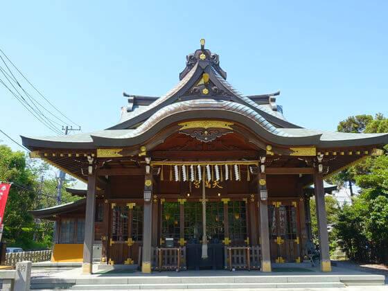 久里浜天神 社殿