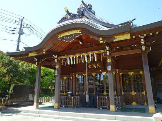横須賀 久里浜天神 社殿