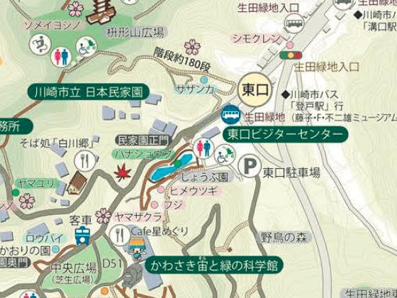 生田緑地 花菖蒲 場所