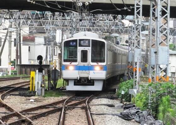 生田緑地 電車