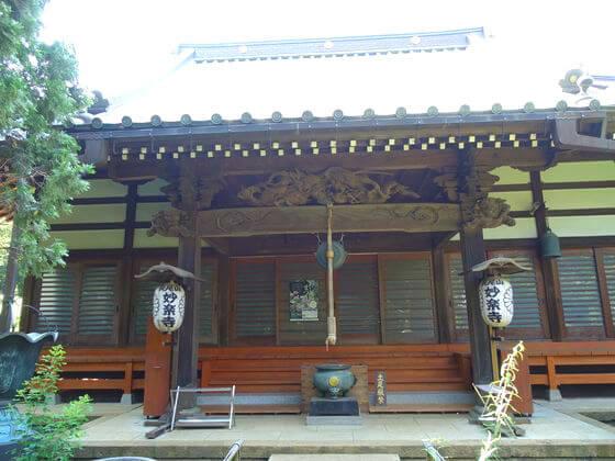 妙楽寺 川崎 本堂