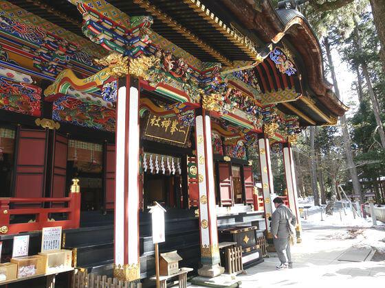 秩父 三峯神社 拝殿