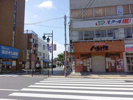 堀切菖蒲園駅前交差点