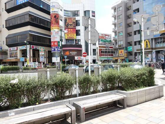 向ヶ丘遊園駅 南口