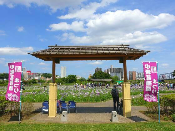 小岩菖蒲園 入口