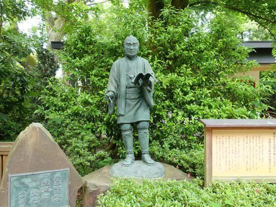 報徳二宮神社 二宮尊徳翁像