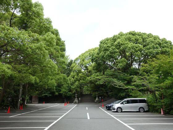報徳二宮神社 駐車場