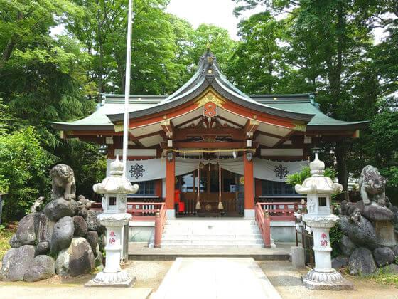 寒田神社 社殿