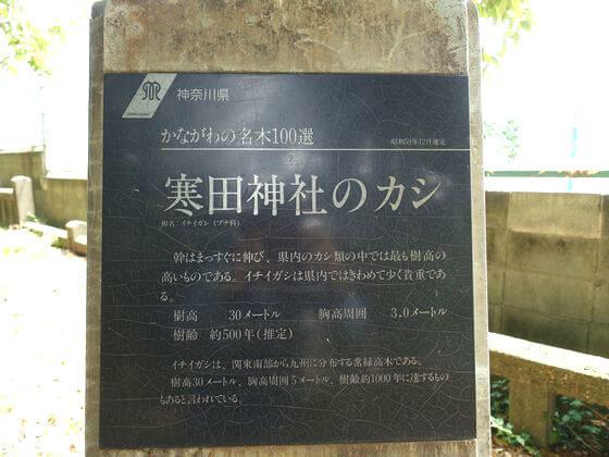 寒田神社 パワースポット