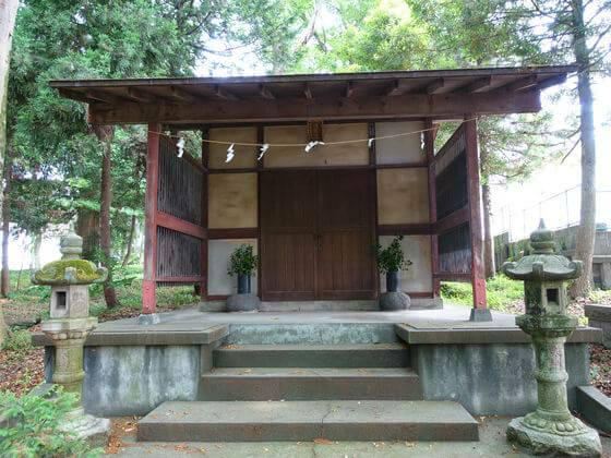 寒田神社 祖霊舎