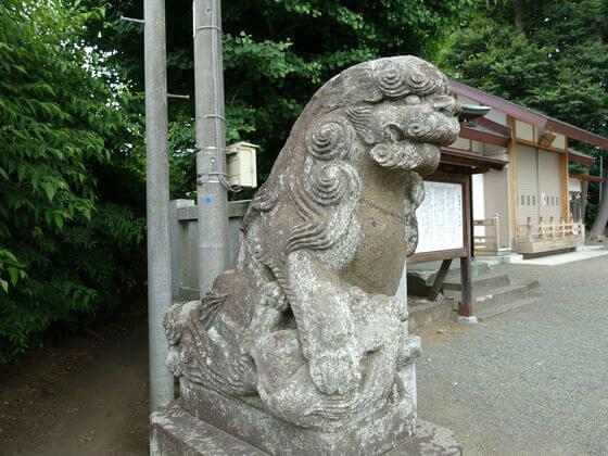 有鹿神社 狛犬