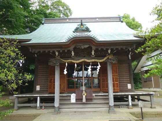 有鹿神社 社殿