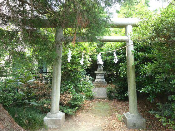 有鹿神社 中宮