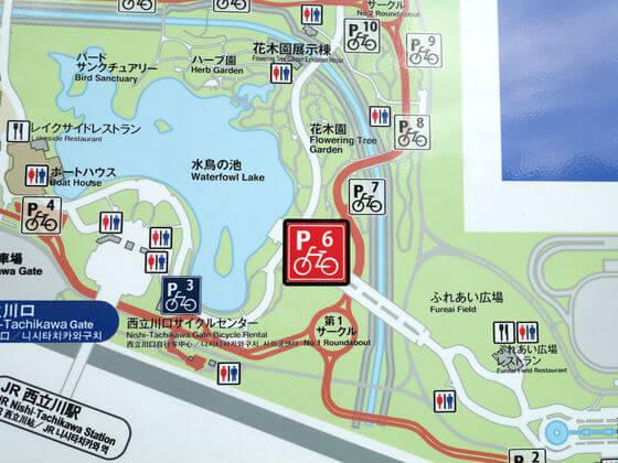 昭和記念公園 あじさい 場所