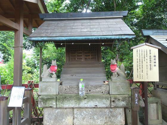 川越八幡宮 稲荷神社