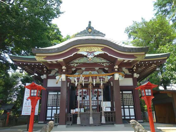 川越八幡宮 社殿