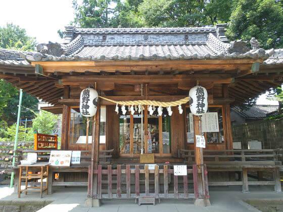川越熊野神社 社殿