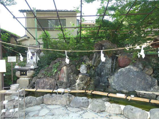 川越熊野神社 銭洗弁財天