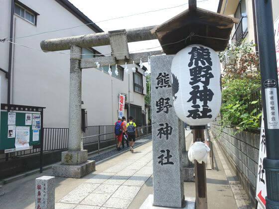 川越熊野神社 境内
