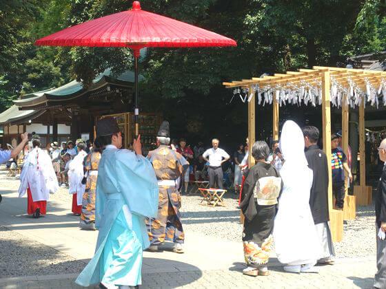 川越氷川神社 結婚