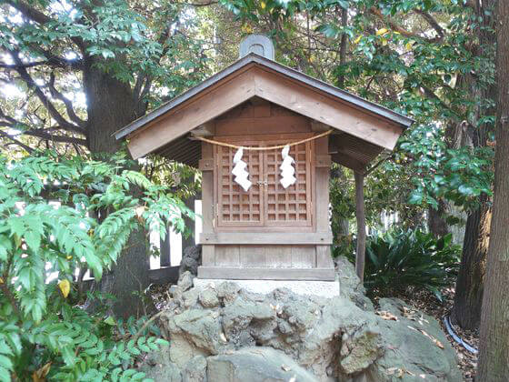川越氷川神社 水神社
