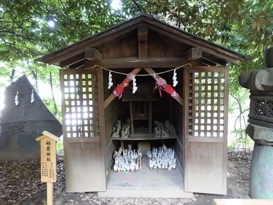 川越氷川神社 稲荷神社