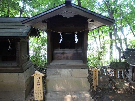 川越氷川神社 松尾神社
