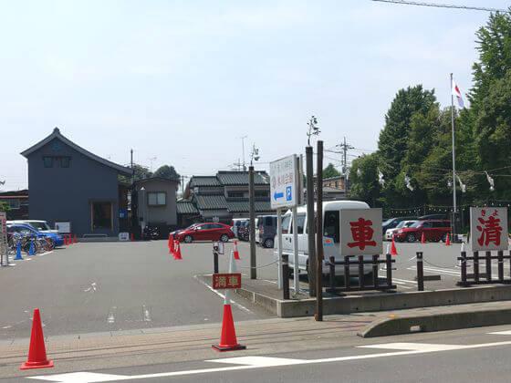 川越氷川神社 駐車場
