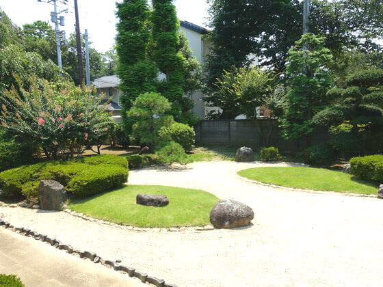 川越城本丸御殿 庭園