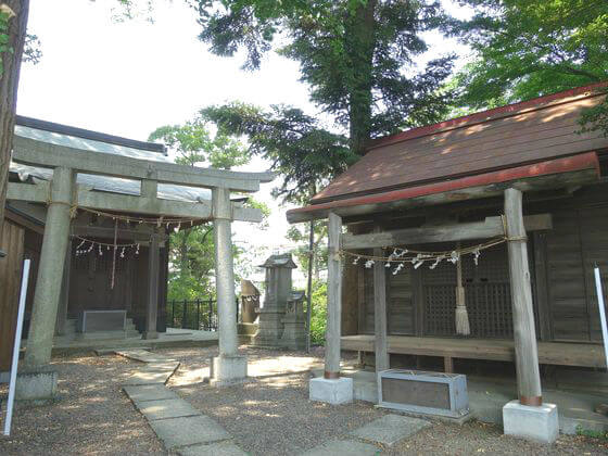 川越 御嶽神社 富士浅間神社