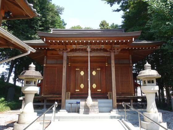 川越 日枝神社 本殿