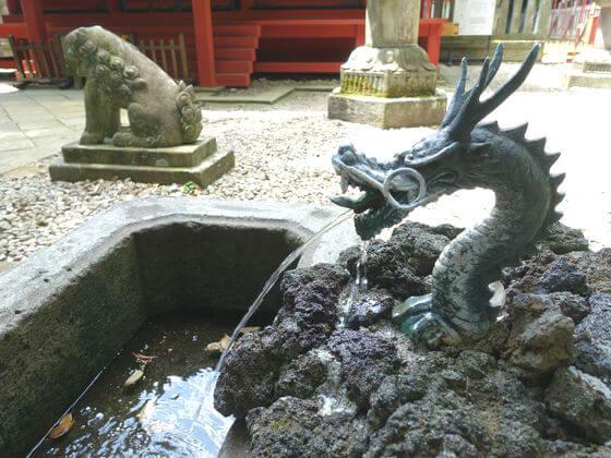 仙波東照宮 手水舎
