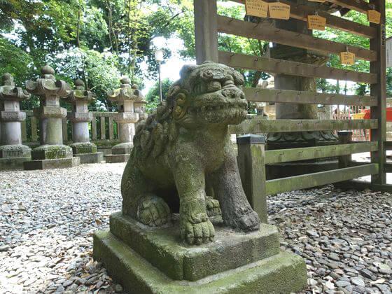 仙波東照宮 狛犬