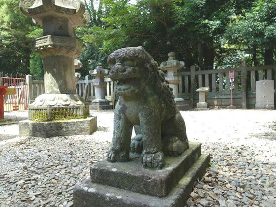 川越 仙波東照宮 狛犬