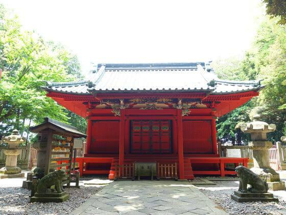 仙波東照宮 社殿