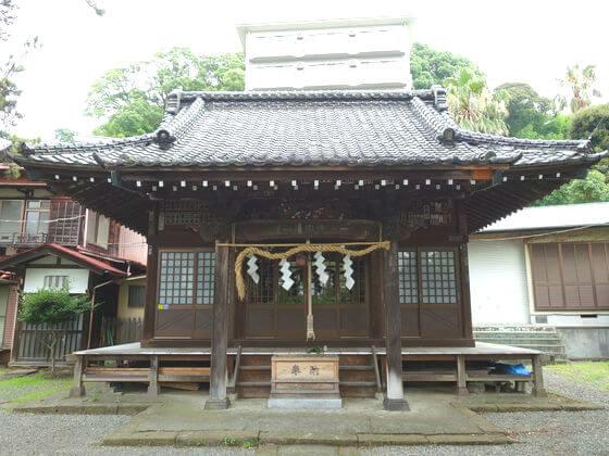 湯前神社 社殿