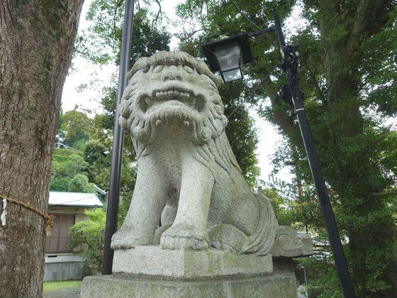 熱海 湯前神社 狛犬