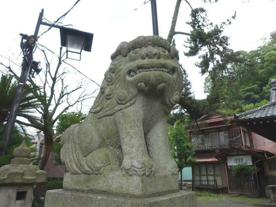 湯前神社 狛犬