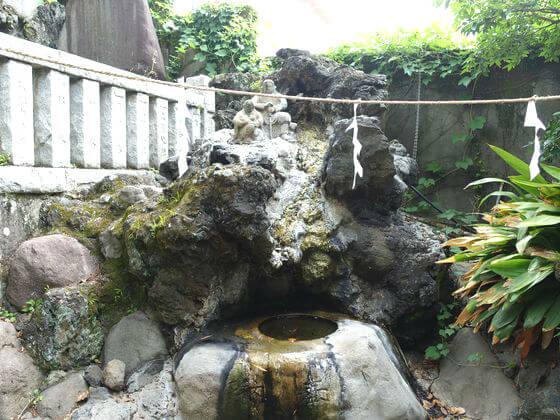 湯前神社 手水舎