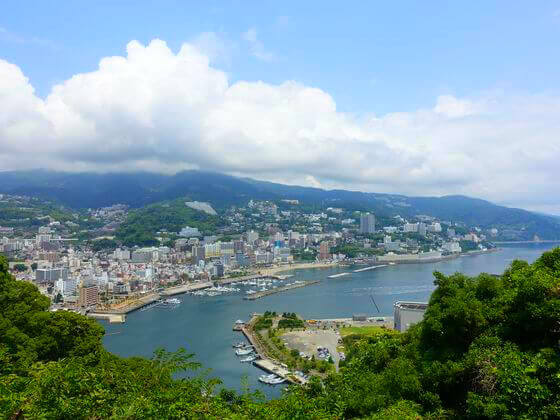 熱海城 景色