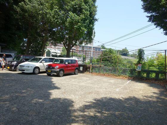 伊豆山神社 駐車場