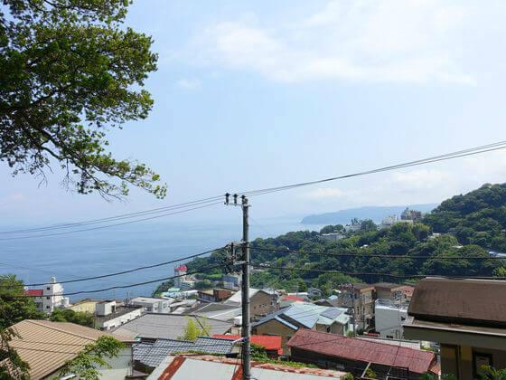 伊豆山神社 景色