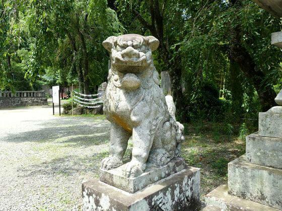 熱海 伊豆山神社 狛犬