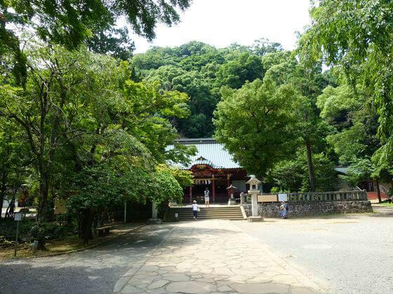 伊豆山神社 境内