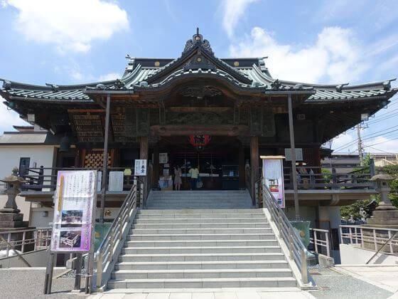 成田山川越別院 本堂
